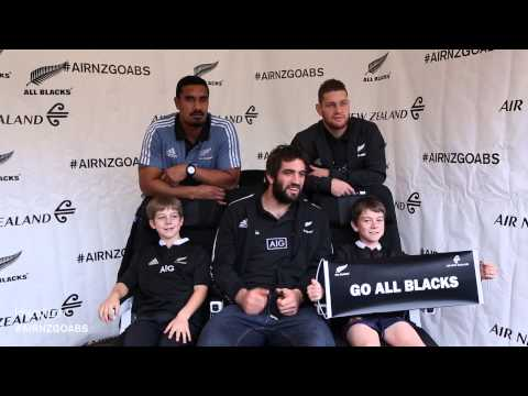 Bringing the Economy Skycouch and All Blacks to Rugby Fans - Hamilton