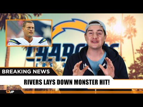 Philip Rivers Celebrates Monster Hit After Losing Game for Chargers