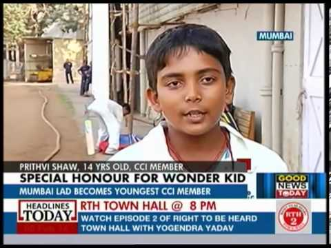 14 year old inducted into prestigious Cricket Club of India