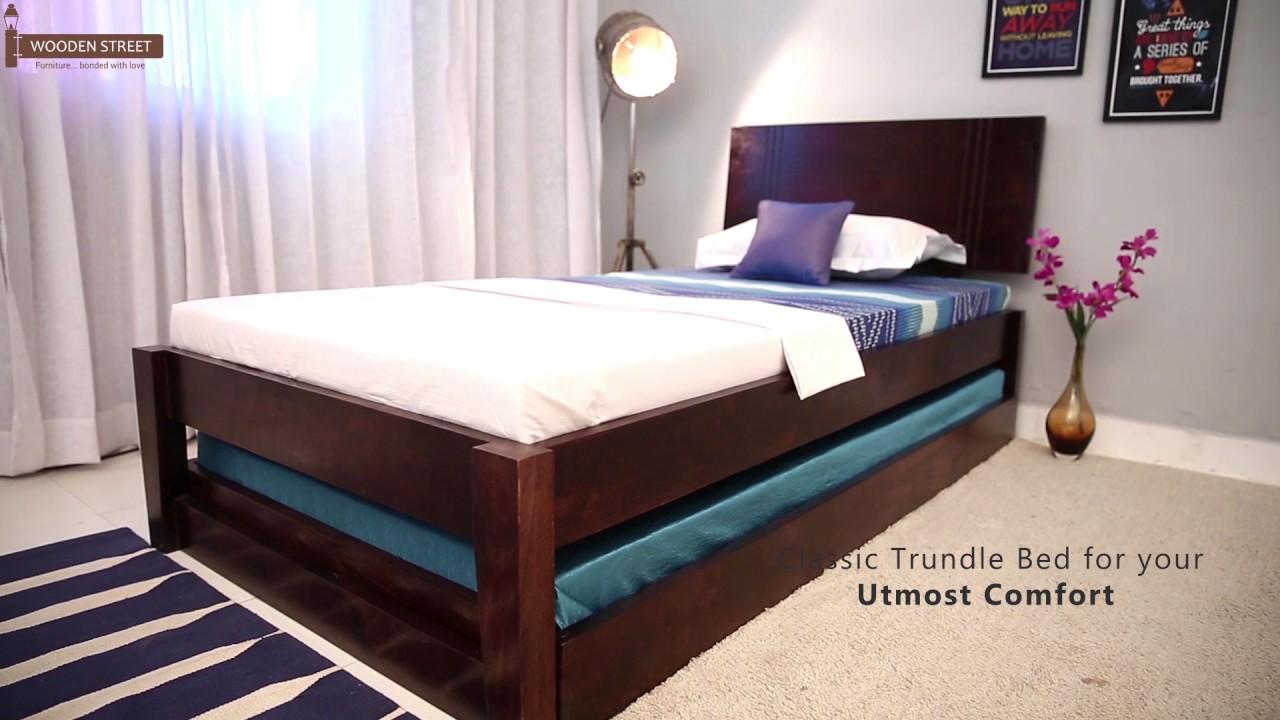 Trundle Bed Fyodor Online Wooden Street