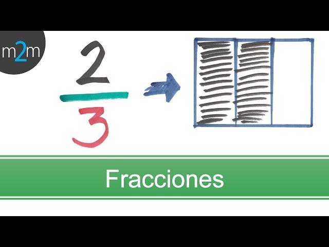 * Concepto de fracciones