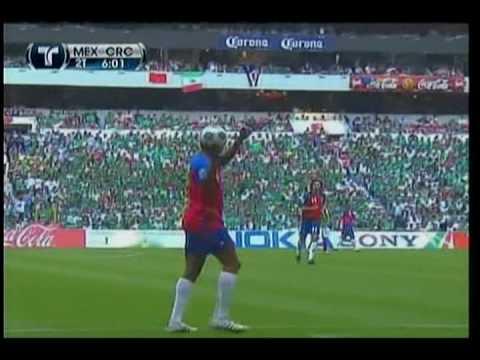 MEXICO vs COSTA RICA ( 2 - 0 Eliminatoria rumbo a Sudáfrica 2010 de CONCACAF )