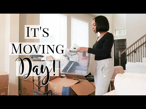 MOVING INTO MY NEW HOUSE!   MOVE AND GET ORGANIZED WITH ME!