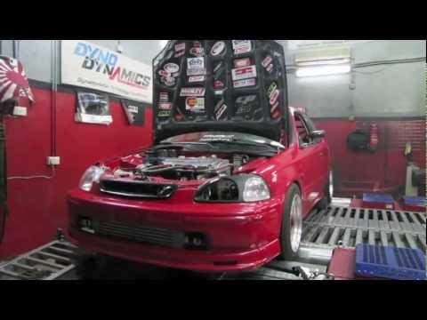 """""""421whp"""" EK9 Honda Civic Turbo (Kuwait)"""