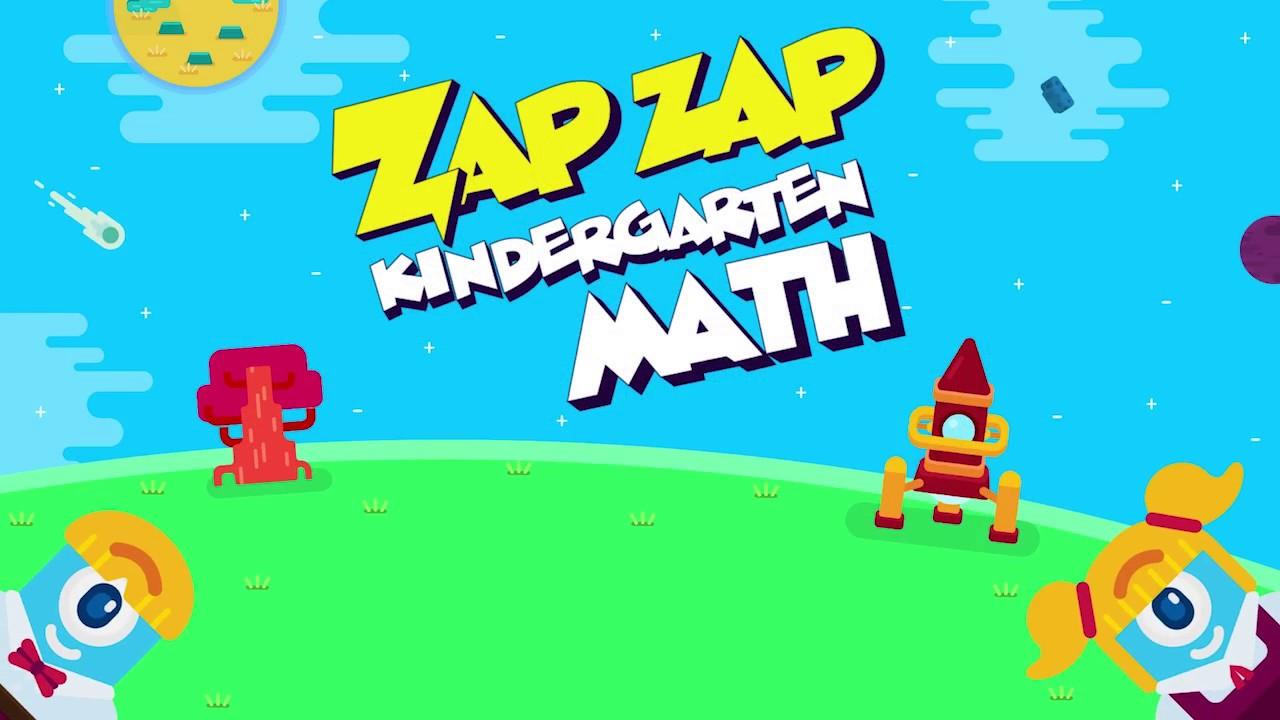 Zap Zap Kindergarten Math - YouTube