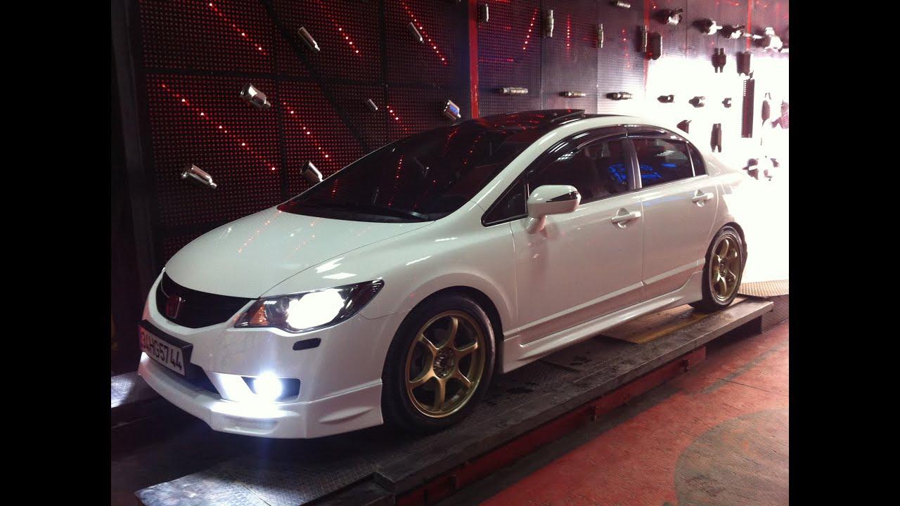 Honda Civic Fd6 1 6i Remus Egzoz Sesi Youtube