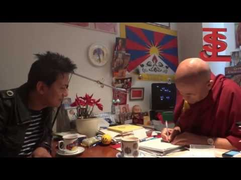 Raju Lama(Mongolian Heart) Visit To Barcelona Tibet House 2013 part 2