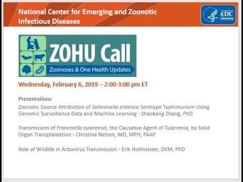 CDC ZOHU Call February 2019