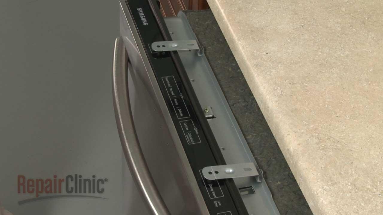 lg dishwasher side mount instructions
