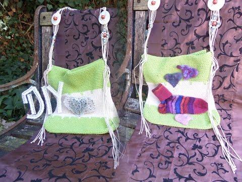 DIY keka eine Tasche, BAG häkeln , – SELBER MACHEN – genaue Anleitung