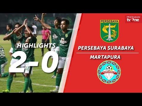 Persebaya Surabaya vs Martapura FC: 2-0 All Goals & Highlights