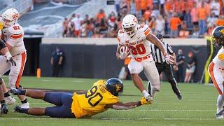 West Virginia Vs Oklahoma State Football Highlights