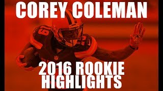 Corey Coleman 2016 Rookie Highlights | Cleveland Browns
