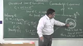XI-8.1.Gravitation intro(2014) Pradeep Kshetrapal Physics channel