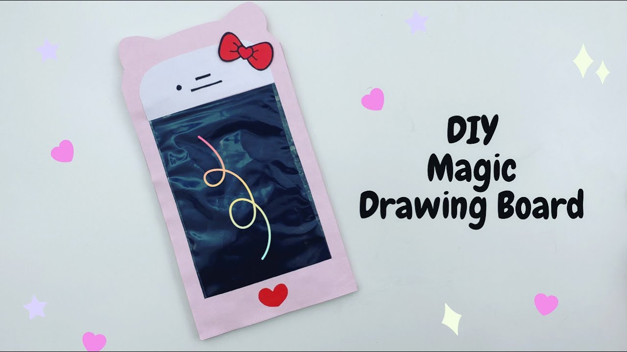 DIY Paper Magic Board For Kids / Paper Phone / Nursery Craft Ideas / Paper Craft Easy / KIDS crafts