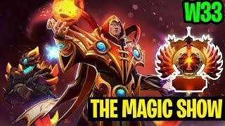 The Magic Show - W33 Invoker - Dota 2