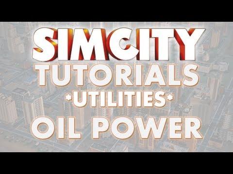 SimCity 2013 Tutorial - OIL POWER