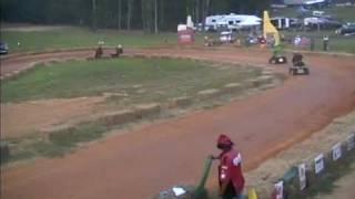 Lawn Mower Racing Bowles Farms 2008 BP Heat Race National