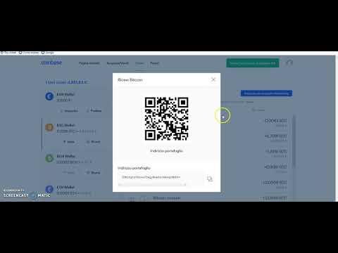ritirare bitcoin coinbase