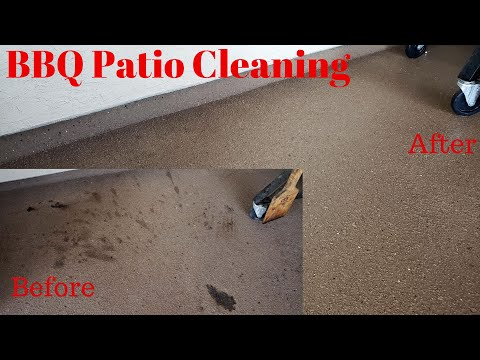 BBQ Patio Cleaning (How To)