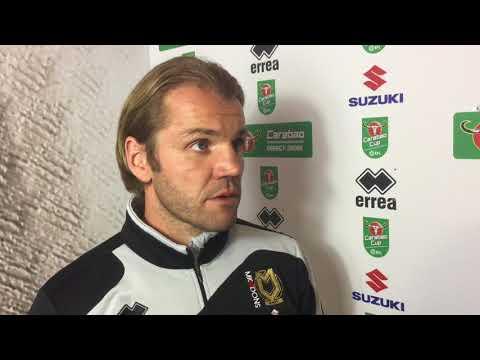 INTERVIEW: Robbie Neilson looks ahead to Swansea City tie