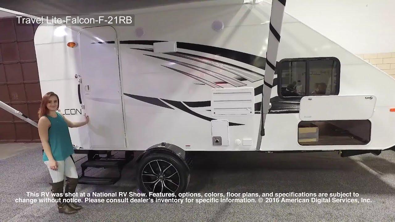 Travel Lite Falcon 21rb Top 2017 Lite Trailers