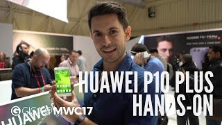 Huawei P10 Plus im Hands-On (deutsch) - MWC 2017 - GIGA.DE