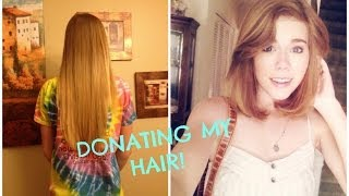 Donating my hair: Pantene Beautiful Lengths | Makeupkatie95 Thumbnail