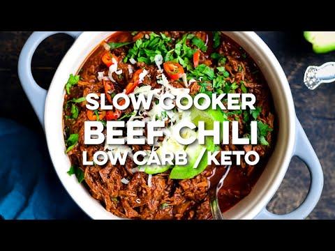 Slow Cooker Beef Chilli Supergolden Bakes Youtube