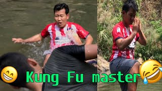 Karenni funny video ( when you need a KungFu master
