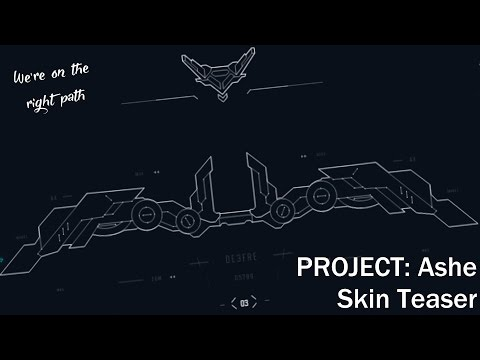 PROJECT: Ashe - Skin teaser - League of Legends Web Browser