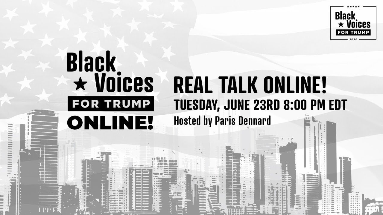 Black Voices for Trump Real Talk Online with Paris Dennard, Corrin Rankin, & Rep. James White
