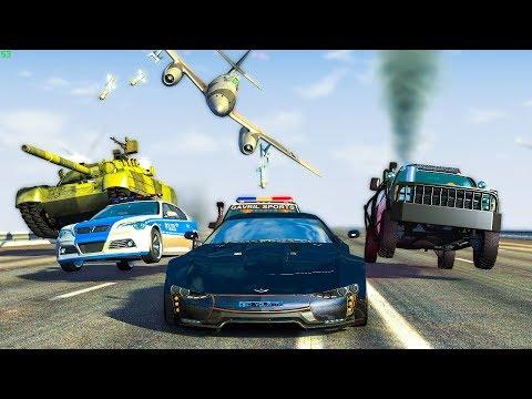 EPIC POLICE CHASES #39 - BeamNg Drive | CRASHdriven