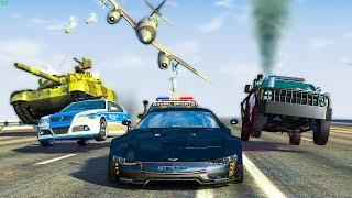 EPIC POLICE CHASES #39 - BeamNg Drive   CRASHdriven