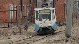This is the smallest Russian town to have its own tram system