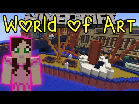 Minecraft: World Of Art (Custom Map) Part 1