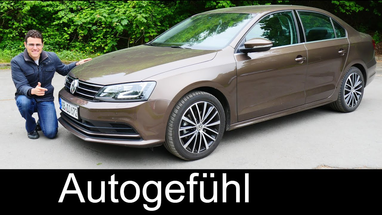 2015/2016 Volkswagen Jetta Facelift FULL REVIEW test driven Vento Sagitar Lavida - Autogefühl ...