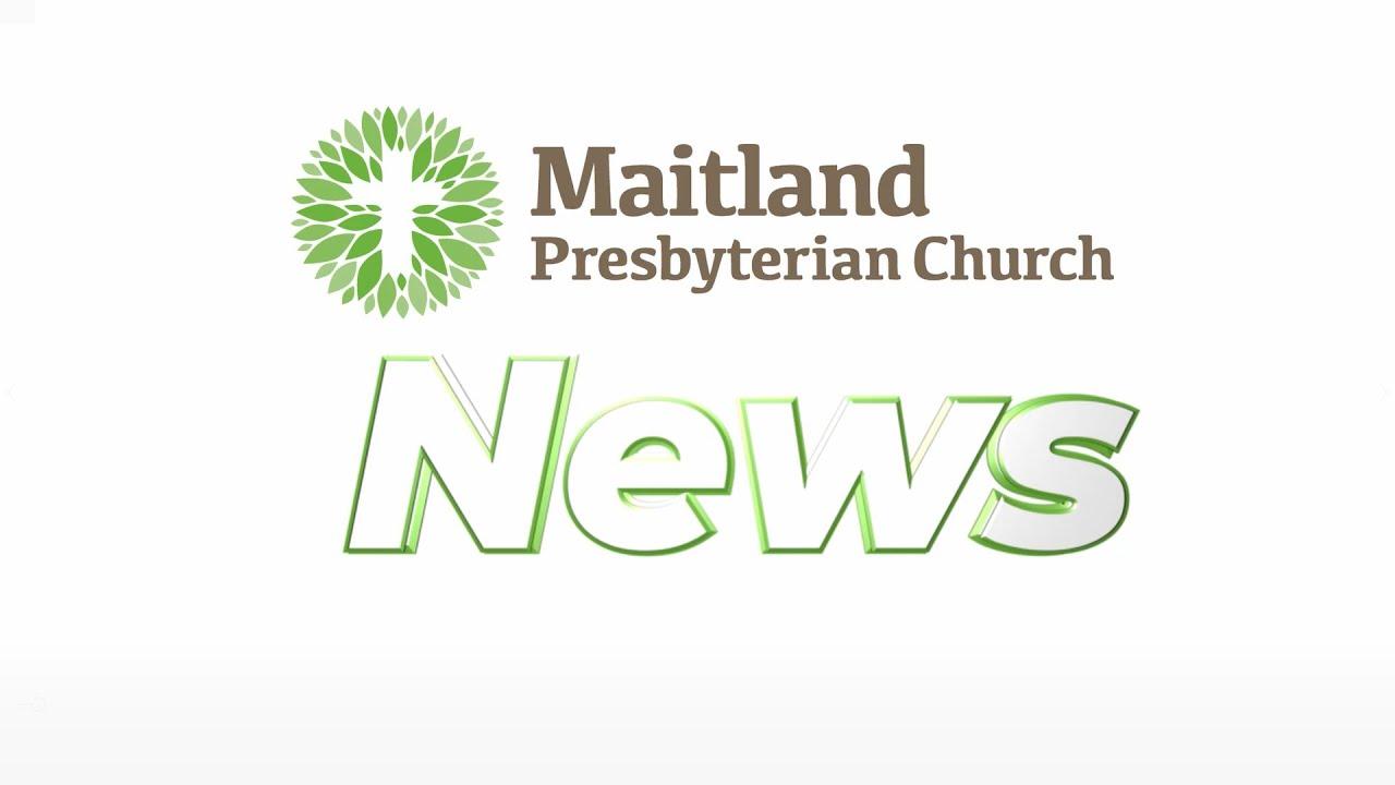 Maitland Pres News   May