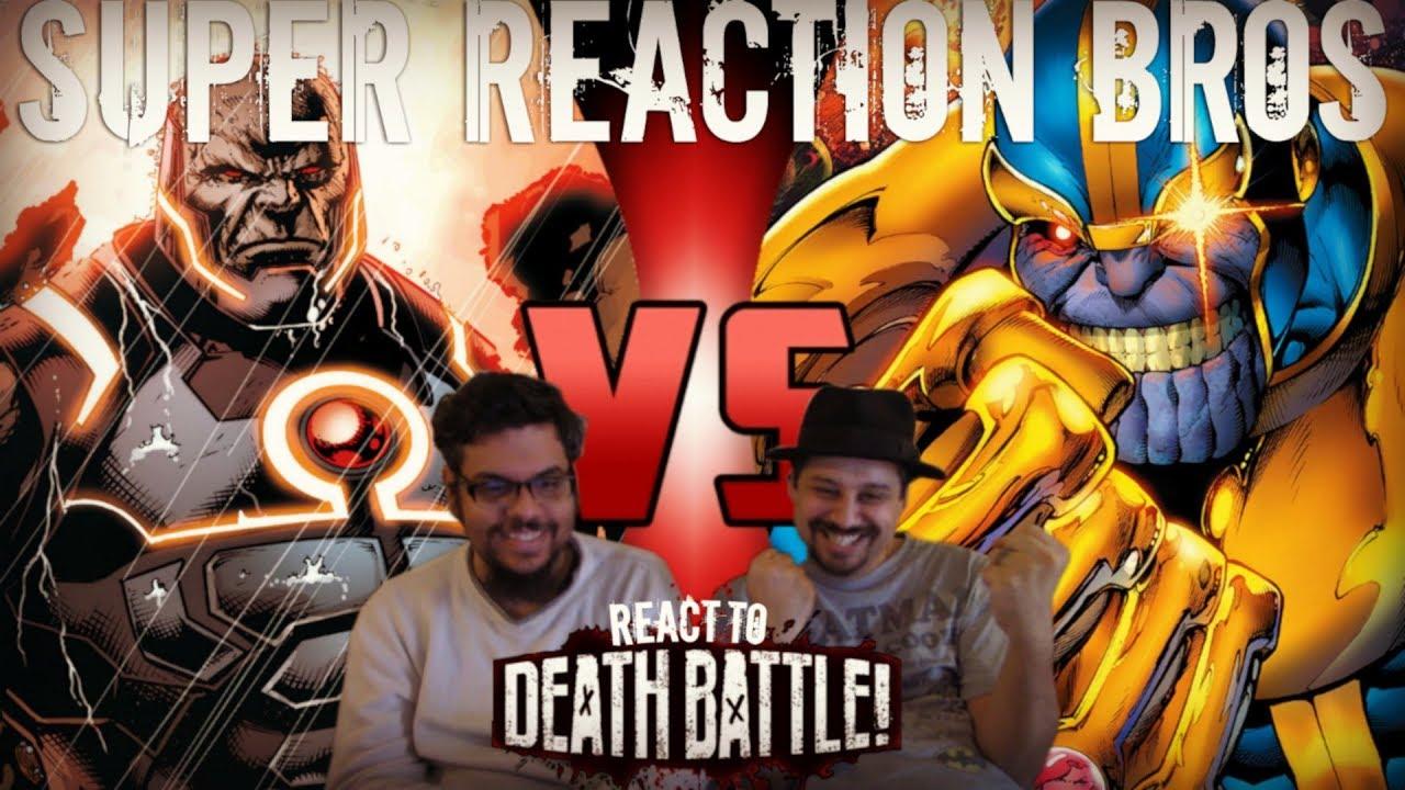 Download SRB Reacts to Thanos VS Darkseid (Marvel VS DC) DEATH BATTLE!