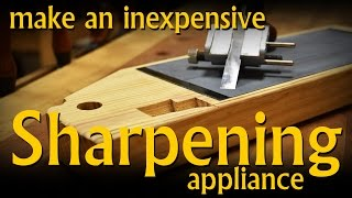 Repeat youtube video Make an Inexpensive Sharpening System/Appliance