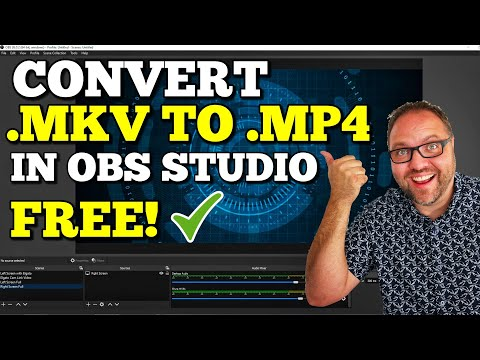 How to Convert MKV to MP4 Free in OBS Studio | Easy!