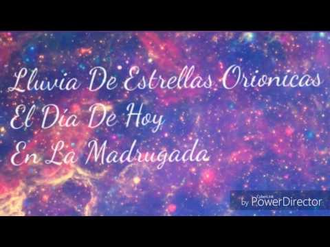Lluvia De Estrellas Orionidas  20 De Octubre