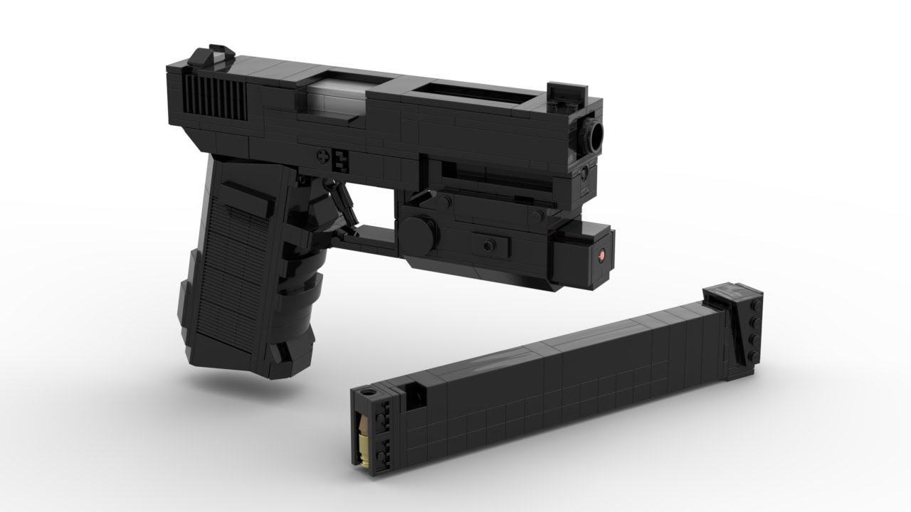 Lego: Glock 18C Instructions