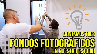 🔨✔️ Como montar fondos fotográficos de papel para un estudio | Julian Marinov