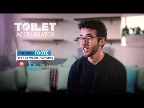 Meet the Toilet Accelerator 2017 Cohort - Andrew Foote of Sanivation