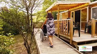 Se reposer dans les hébergements du camping naturiste Creuse-Nature