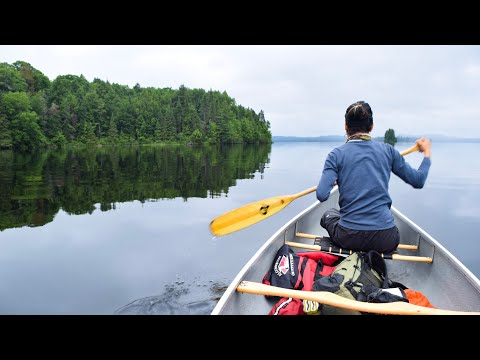 3 Day Canoe Trip In Algonquin Provincial Park. Day1 Opeongo Lake