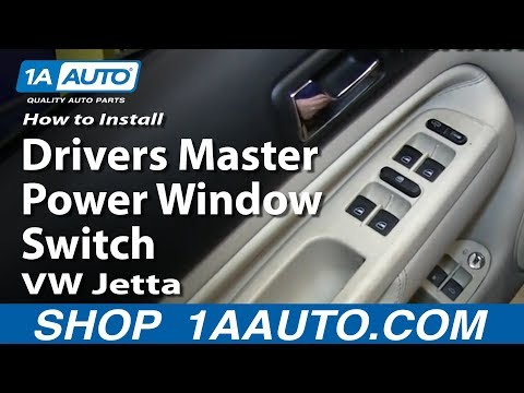 How to Replace Power Window Switch 99-05 Volkswagen Jetta