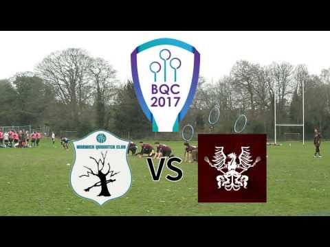 BQC 2017: Holyrood Hippogriffs Firsts VS Warwick Quidditch Club