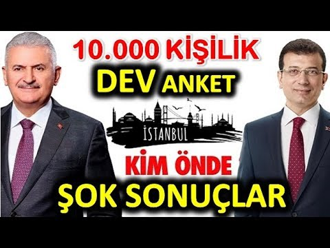23 Haziran İstanbul seçimi son anket. Ekrem İmamoğlu Millet Cumhur İttifakı Ak p